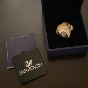 Swarovski Helios Desert Glow Cocktail Ring
